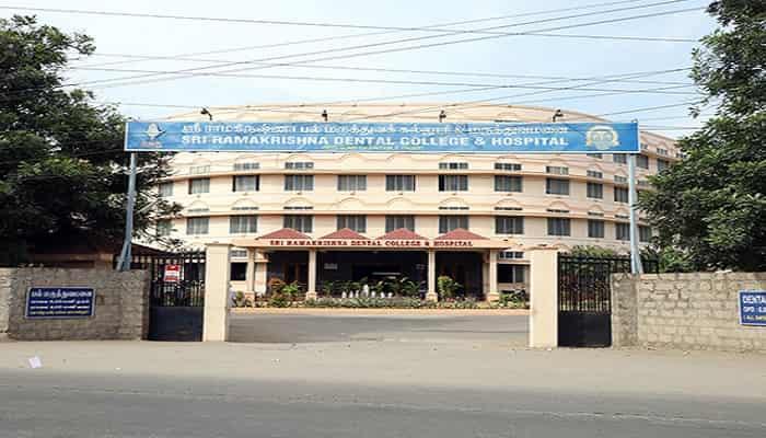 Sri Ramakrishna Dental College & Hospital Coimbatore