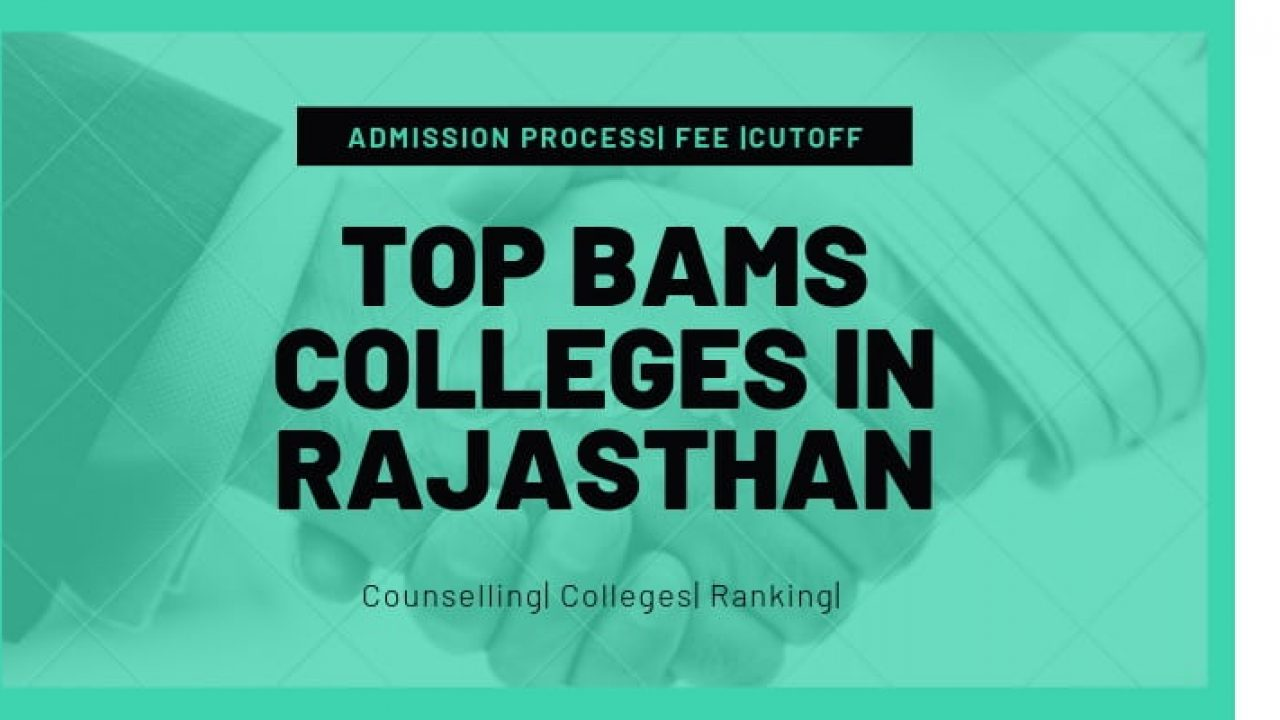 Bams application form 2013 rajasthan