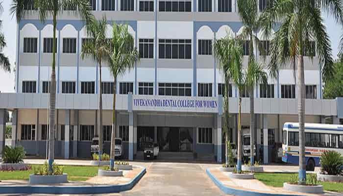 Vivekanandha Dental College for Women Elayampalayam