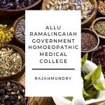 Allu Ramalingaiah Government Homoeopathic Medical College