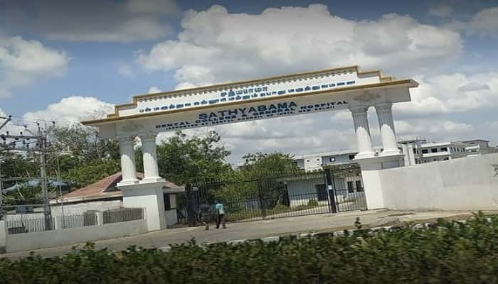 Sathyabama Dental College and Hospital Chennai