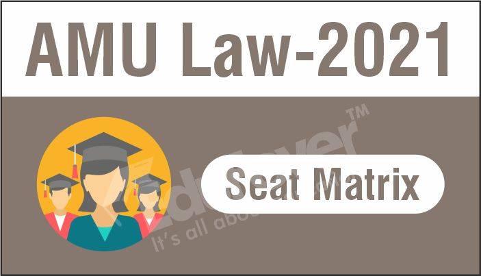 AMU LAW Seat Matrix