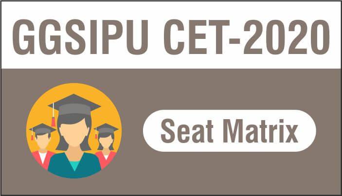 IPU CET Seat matrix