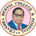 Chandra Dental College logo