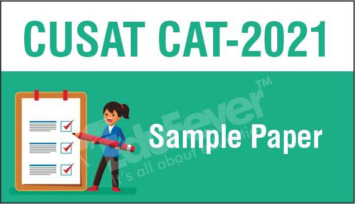 CUSAT CAT Sample Paper