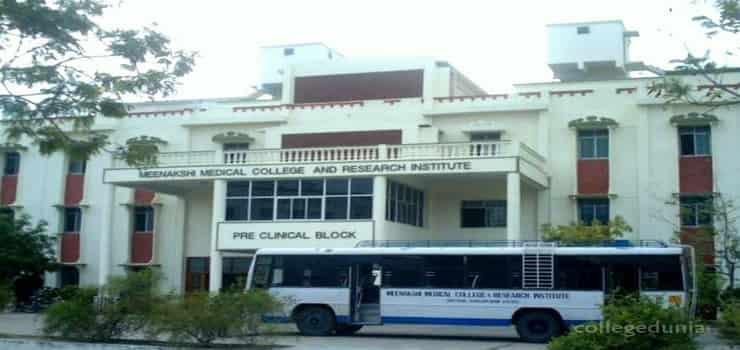 Meenakshi Medical College Enathur