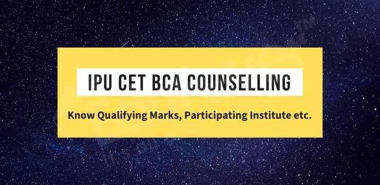 IPU CET BCA Counselling
