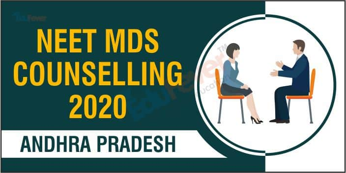 Andhra Pradesh NEET MDS Counselling 2020