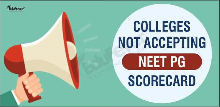 Colleges Not Accepting NEET PG