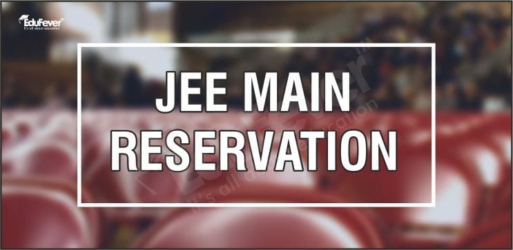 JEE Main Reservation