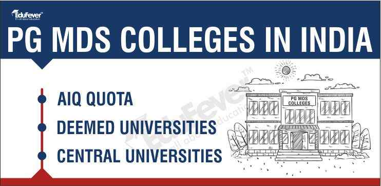 PG MDS Colleges in India