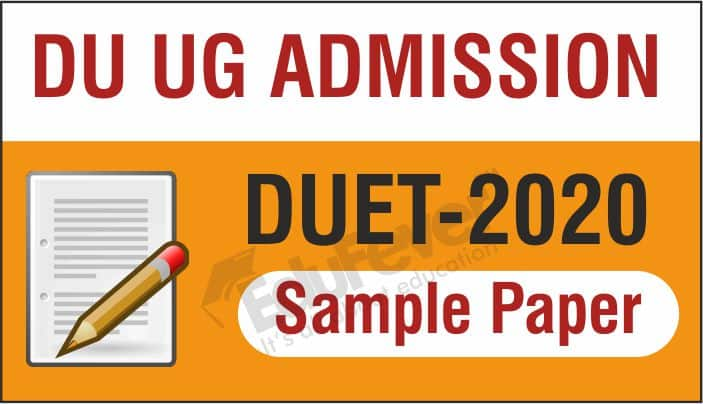 DUET Sample Papers