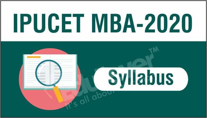 IPU CET MBA Syllabus 2020