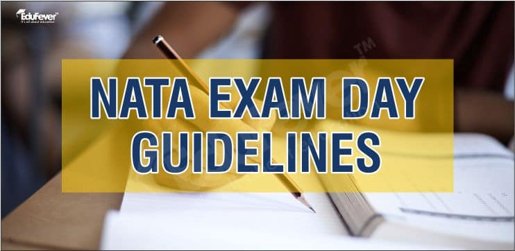 NATA Exam Day Guidelines