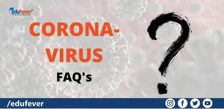 Coronavirus FAQ's