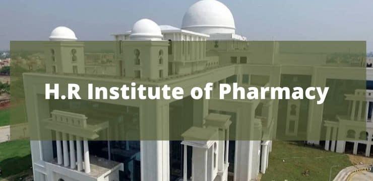 H.R Institute of Pharmacy
