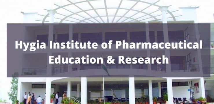 Hygia Institute of Pharmaceutical Education & Research