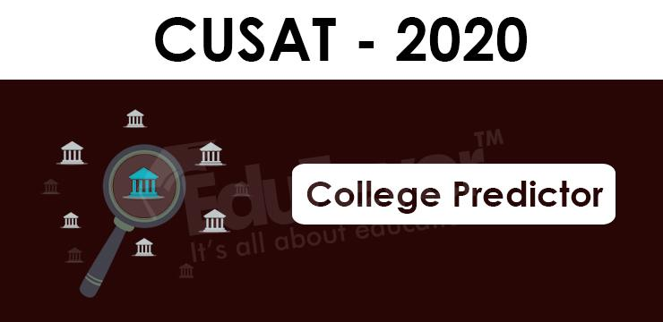 CUSAT CAT College Predictor