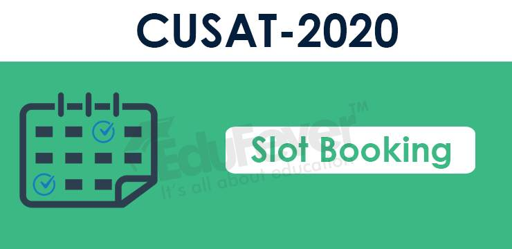 CUSAT CAT Slot Booking