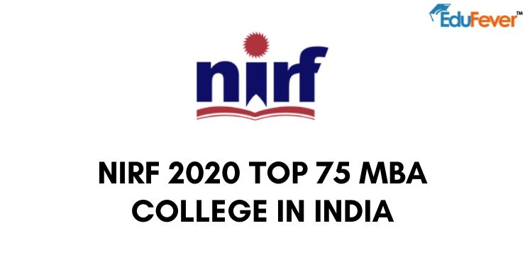 NIRF 2020 top 75 MBA college in India