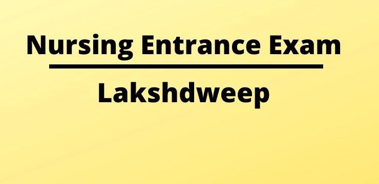 Lakshdweep Nursing Admission