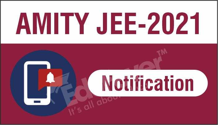 AMITY JEE Notification
