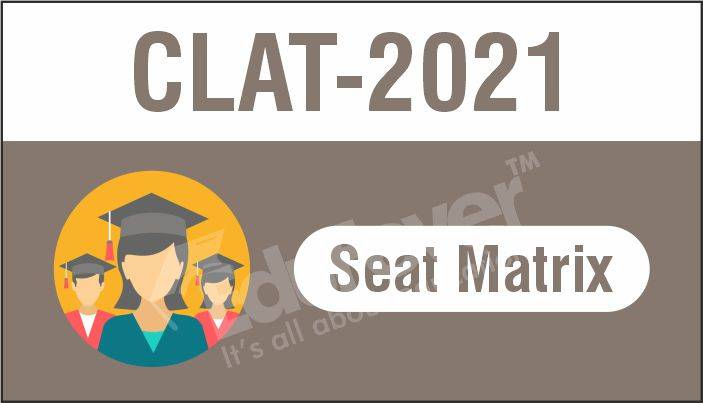 CLAT Seat Matrix