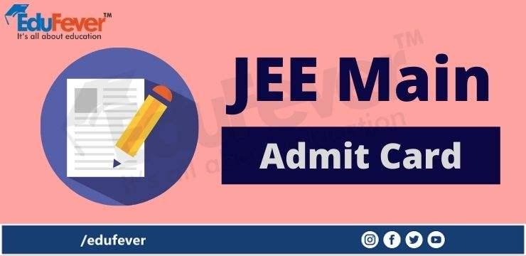 JEE Main Admit Card