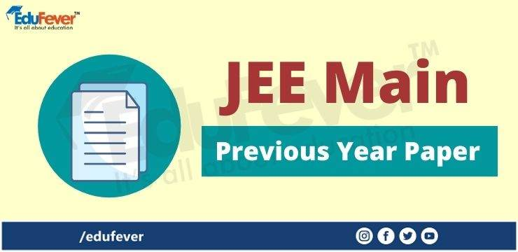 JEE Main Previous Year Paper