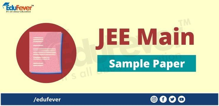 JEE Main Sample Paper