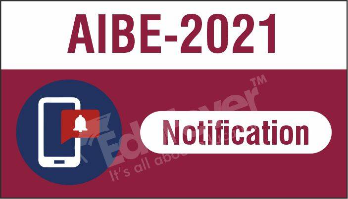 AIBE 2021 Notification