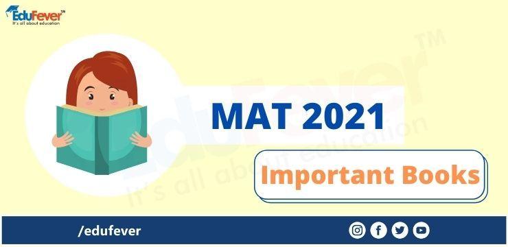 MAT 2021 Books