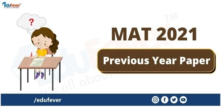 MAT 2021 Previous Year Paper